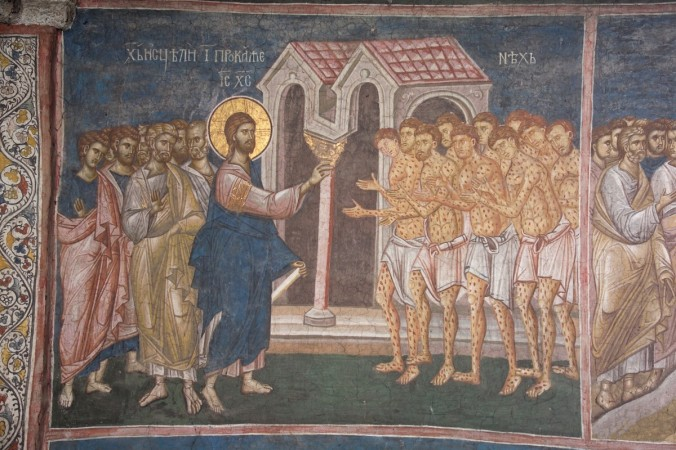 Jesus Heals 10 Men with Leprosy in Luke 17